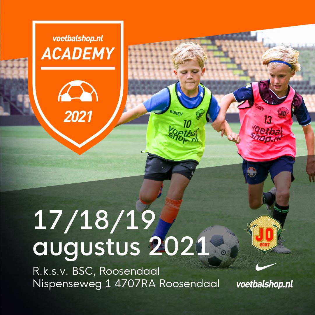 Voetbalshop.nl Academy bij BSC Roosendaal