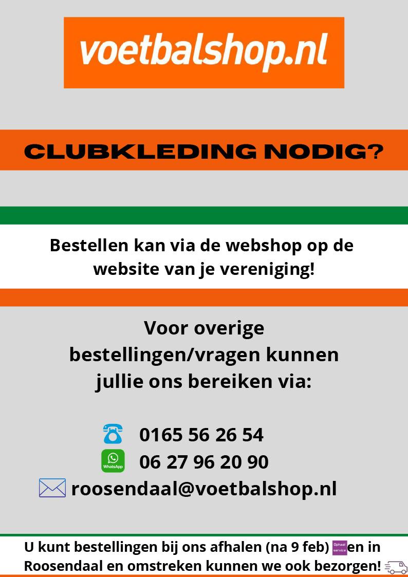 Voetbalshop.nl - Clubkleding bestellen